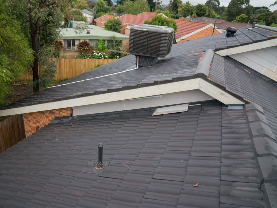 Concrete tile roof for replacement