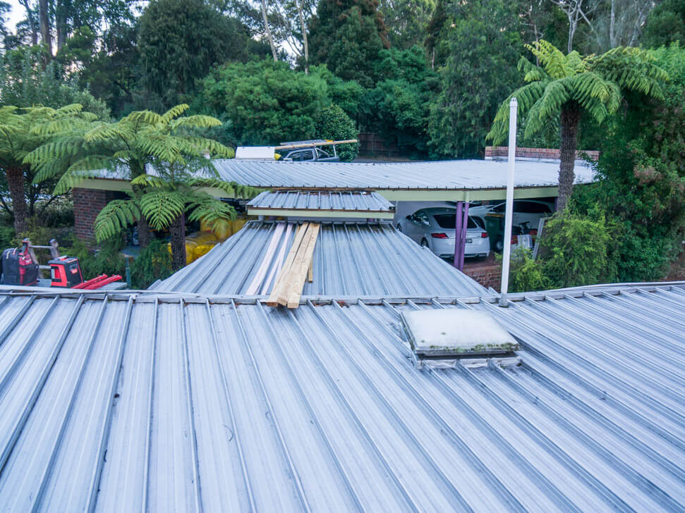 Curved Metal Roof