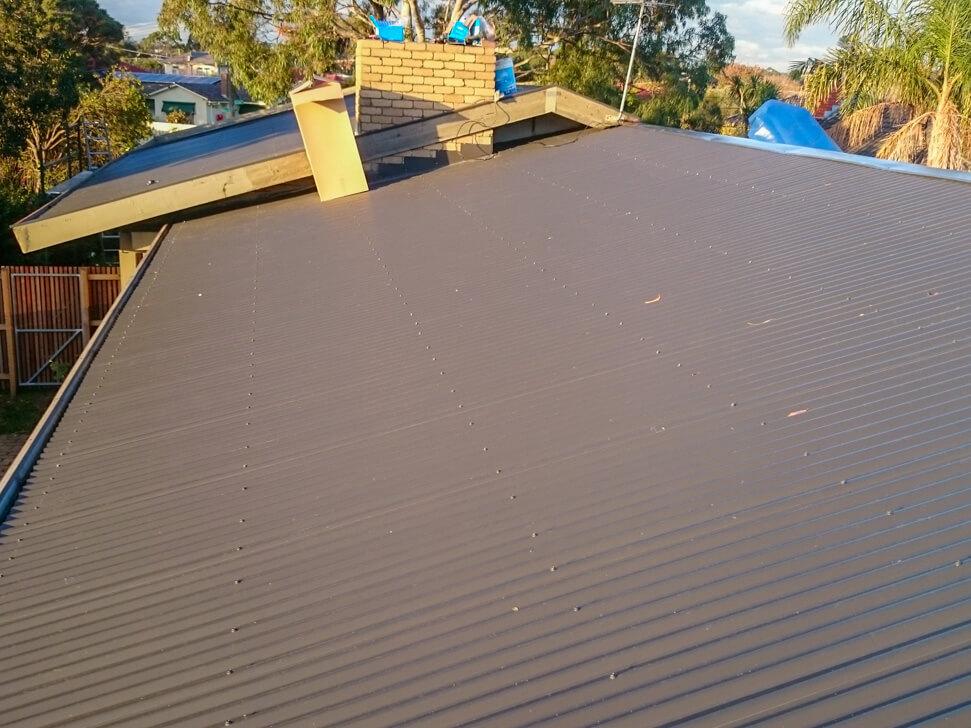 Monument Colorbond Roof Conversion