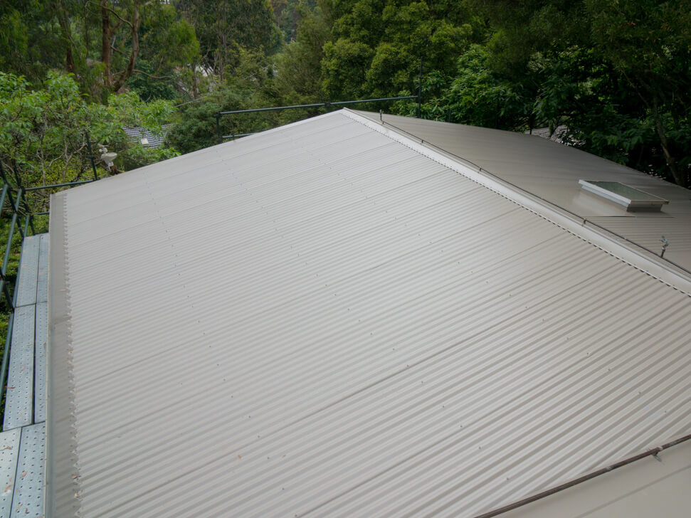 New Colorbond Roof and gutter guard