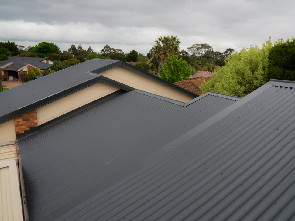 New Monument Colorbond roof in Melbourne