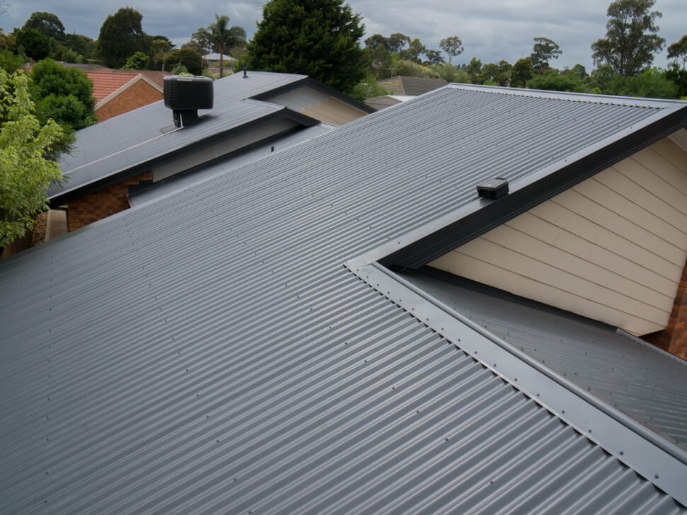 New roof replacement in Berwick