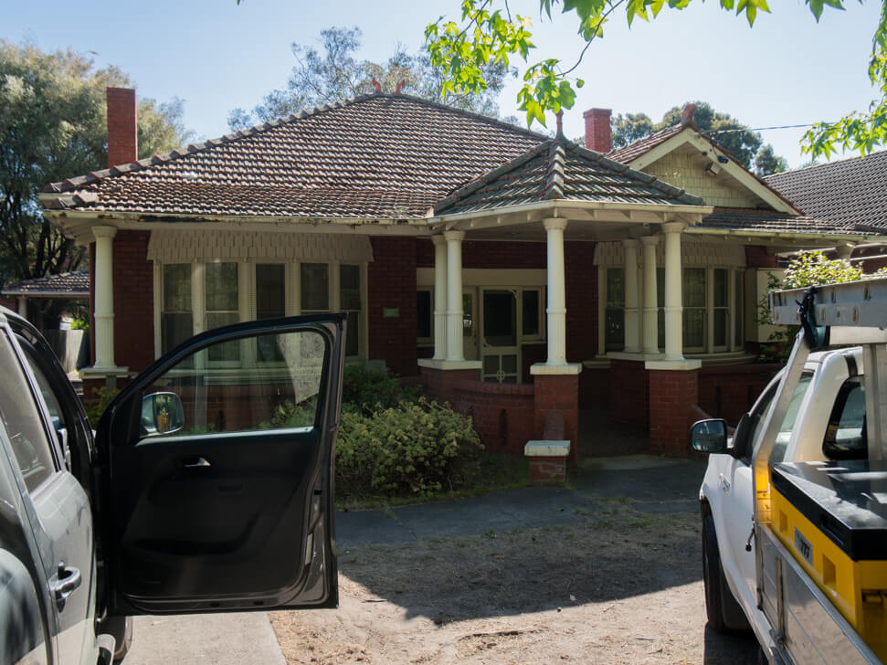 Old californian bungalow in Malvern East