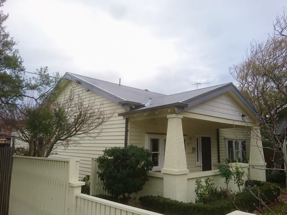 Tile to Tin roof conversion