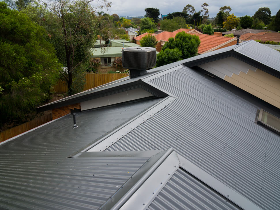 What a new Colorbond Roof looks like in Berwick